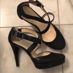 Calvin Klein platform heels